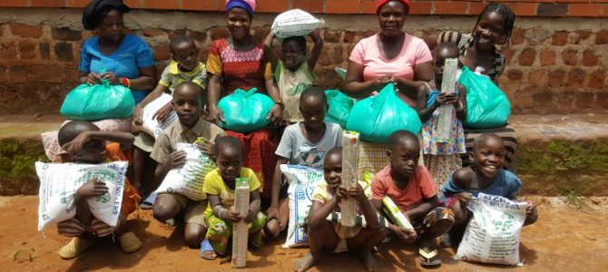 Christ Our Vision Child Care receives the first Covid-19 food relief
