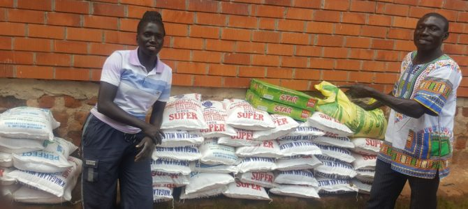 CHRIST OUR VISION CHILD CARE RECEIVES COVID-19 SECOND FOOD RELIEF
