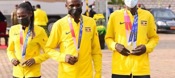 UGANDAN OLYMPIC MEDALIST GET CARS